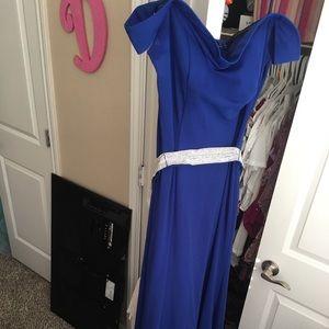 Prom dress Royal blue